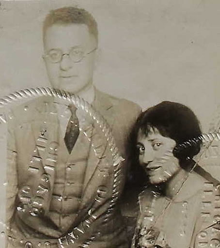 Dave Frankel and his wife, Estelle