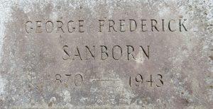 george sanborn grave