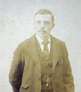Jasper Roderick, in his early years, late 1800s.