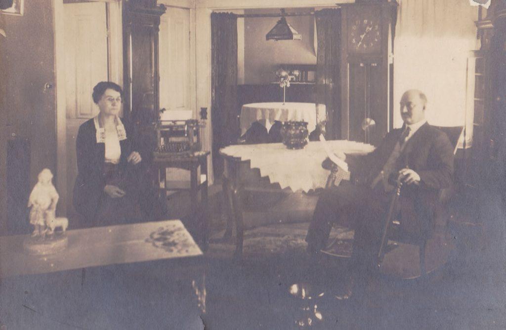Jasper and Sadie Roderick, circa late 1920s to 1930s.