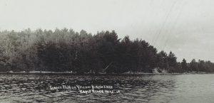 Gagen Hill on Yellow Birch Lake, Daniel Gagen's namesake.