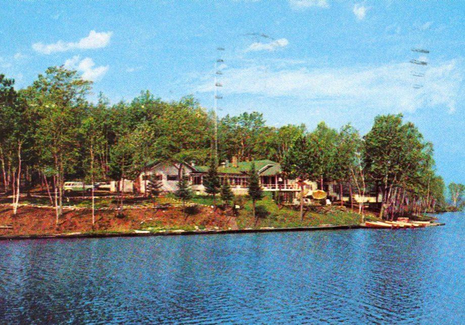 Chanticleer Inn postmark 1957